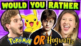 Download TEENS & ADULTS PLAY WOULD YOU RATHER! Video