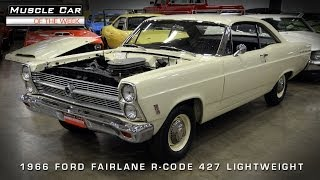 Download Muscle Car Of The Week Video #56: 1966 Ford Fairlane 427 Lightweight Video