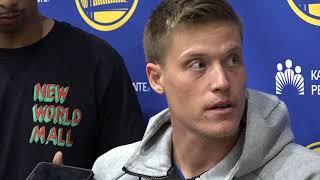 Download Golden State Warriors welcome Jonas Jerebko Video