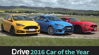Download Focus RS v Mustang v Focus ST | 2016 Best Performance Car Under $60,000 Video