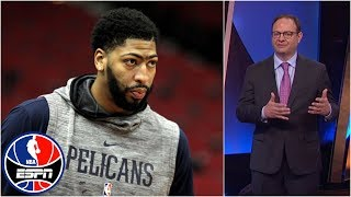 Download Woj explains what it'd take for Anthony Davis to be traded | NBA Countdown Video
