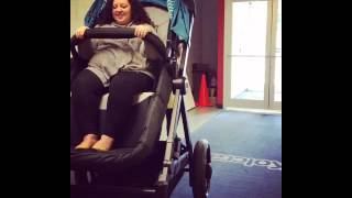 Download Riding in the Adult Stroller from Contours Baby Video