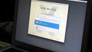 Download Installing Mac OS Lion beta on a 2010 Macbook Air with a USB Flash drive Video