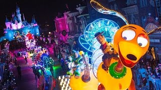 Download [HD] Paint The Night Parade Disneyland 60th Celebration Opening Night 1080p 60fps Full Complete Show Video