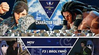 Download SFV: MOV vs F3|Brolynho - Capcom Cup Day 1 Top 32 - CPT2016 Video