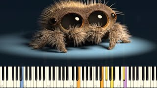 Download Lucas The Spider - Musical Spider - IMPOSSIBLE REMIX - Piano Cover Video