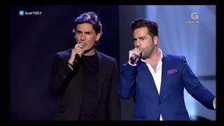 Download Nando Agüeros y David Bustamante - La Santina - TV Video