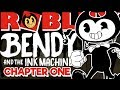 Download ROBLOX | Bendy and The Ink Machine | Amazing Chapter 1 Remake! | ROBLOX Gameplay Video