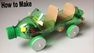 Download How to Make a Car Out of Plastic Bottle - (Powered Car/Electric Toy) Video