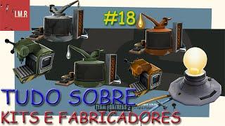 Download TUDO SOBRE KITS, FABRICADORES E PEÇAS ROBÔ - TF2 School - [PT-BR] #18 Video