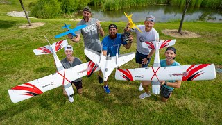 Download RC Airplane Battle | Dude Perfect Video