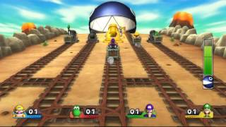 Download Mario Party 9 minigame: Chain Chomp Romp 60fps Video
