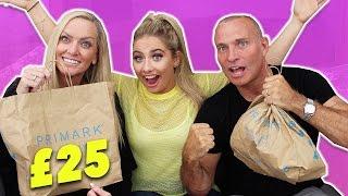 Download MUM VS DAD?! £25 PRIMARK OUTFIT CHALLENGE!!! 😱😬 Video