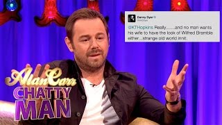 Download Danny Dyer Tackles Katie Hopkins On Twitter - Alan Carr: Chatty Man Video