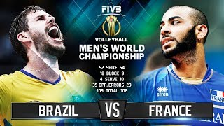 Download Brazil vs. France | Highlights | Mens World Championship 2018 Video