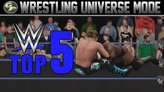 Download WWE 2K17 Universe Mode: Top 5 Moments From #12! Video