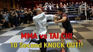 Download MMA vs Tai Chi 10 Second KNOCK OUT!!! Video