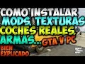 Download COMO INSTALAR MODS, TEXTURAS, COCHES REALES, ARMAS EN GTA V PC | How To Install Mods Video
