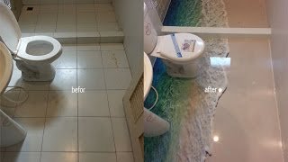 Download DIY การทำพื้นห้องน้ำ 3D Video
