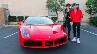 Download I BOUGHT MY TWIN A FERRARI !!! (emotional) Video