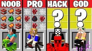 Download Minecraft Battle: ANIMAL BIKES CRAFTING CHALLENGE ~ NOOB vs PRO vs HACKER vs GOD – Animation Video