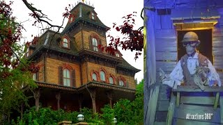 Download [4K] Phantom Manor Ride - Disneyland Paris version of Haunted Mansion Ride Video