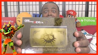 Download MAJORA'S MASK New 3DS XL Edition Unboxing! Video