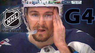 Download Winnipeg Jets vs Minnesota Wild. 2018 NHL Playoffs. Round 1. Game 4. April 17th, 2018. (HD) Video