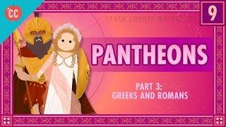 Download The Greeks and Romans - Pantheons Part 3: Crash Course World Mythology #9 Video