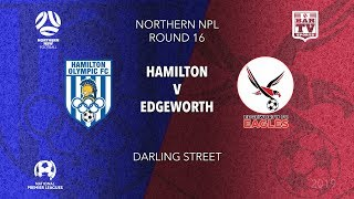 Download 2019 NPL Northern NSW U20s - Round 16 Catch up - Hamilton Olympic v Edgeworth Eagles Video