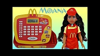 Download MOANA Mcdonald's Cash Register with Happy Meal Toy Surprises Video