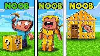 Download Minecraft - LUCKY BLOCK CHALLENGE! (NOOB vs NOOB vs NOOB) Video