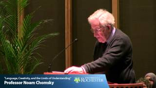 """Download """"Language, Creativity, and the Limits of Understanding"""" by Professor Noam Chomsky (4-21-16) Video"""