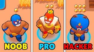 Download NOOB vs PRO vs HACKER in Brawl Stars! Wins & Fails #53 Video