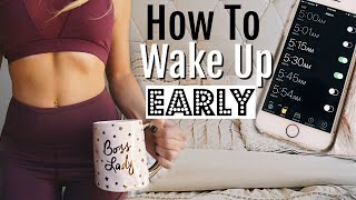 Download How To Wake Up Early & Change your life! 2017 Video