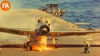 Download Vintage Aircraft Carrier Landings - Fails and Mishaps Video