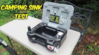 Download Testing Portable Camping Sink Video