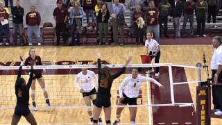 Download 2014 Gopher Volleyball Season Highlight Video Video
