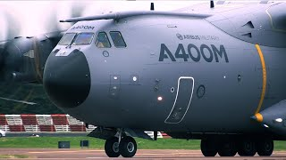 Download RIAT 2014 Airbus A400 display Video