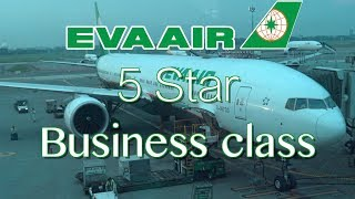 Download BEST BUSINESS CLASS!? EVA AIR 15 hour flight Toronto to Taipei Boeing 777-300ER Video