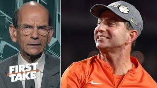 Download Paul Finebaum gives Clemson credit, says the Tigers have a chance at the CFP title | First Take Video