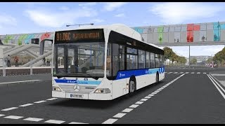 Download OMSI 2. Map Express 91.06. Line 91.06C. Mercedes-Benz O530 Citaro CNG. Part 1 Video