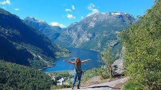 Download Zum Geirangerfjord in Norwegen mit dem Camper・Gudbrandsjuvet・V2og #53 Video
