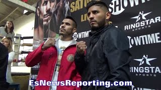 Download JESUS CUELLAR & ABNER MARES FACE OFF!! NO FEAR IN BOTH!! ARGENTINA VS MEXICO Video