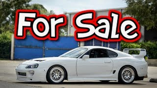 Download My Supra is for Sale... Getting a GTR Video