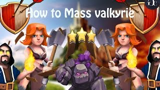 Download Town Hall 9 Attack Strategy | Mass Valkyrie by Dipu Jr. [Incredible Star] Video