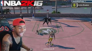 Download EXPOSING TRASH TALKERS AT THE PARK!! NBA 2K16 Video