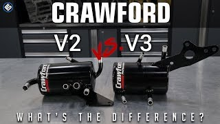 Download Crawford V3 vs V2 Air Oil Seperator - Whats the Difference? - What's in the Box Video