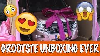 Download DE GROOTSTE UNBOXING EVER!! | PaardenpraatTV Video