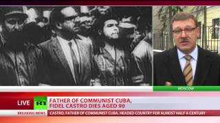 Download 'Castro will stay in the history of mankind' - head of Federation Council's Intl Affairs Committee Video